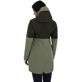 Berghaus Rothley Jas Dames, oil green/deep depths